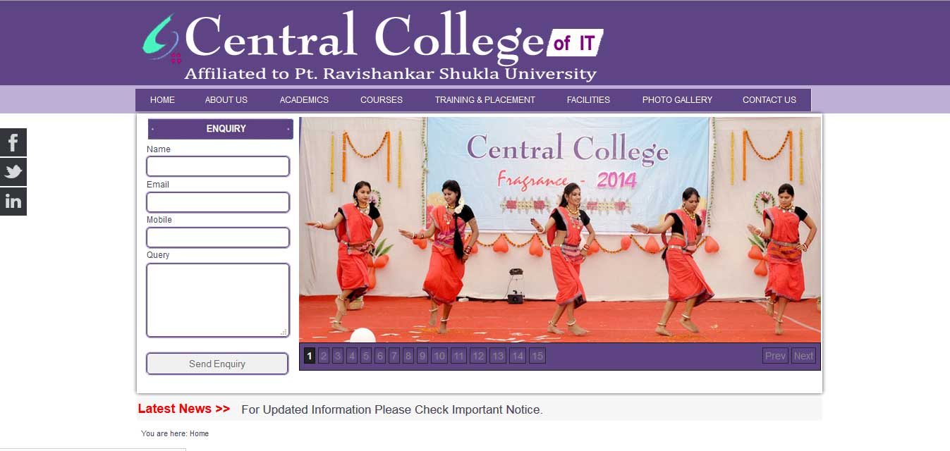 Central College of IT