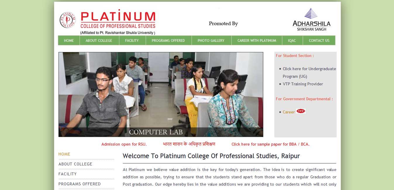 Platinum College Of Professional Studies