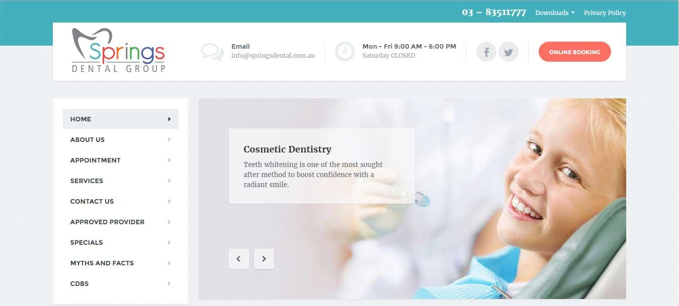 Springs Dental Group – Australia